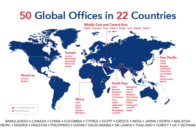 SI-UK Global Offices